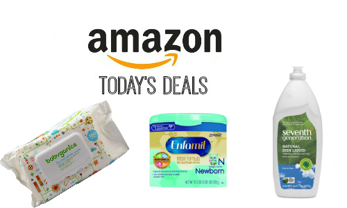 Amazon Deals: Diapers, Baby Formula + More