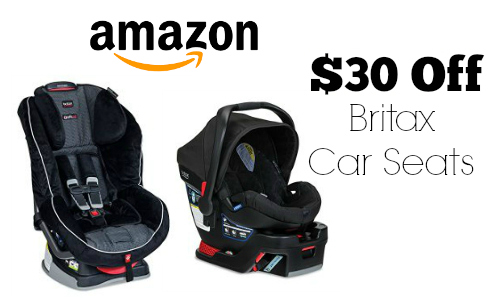 Amazon 30 Off Britax Infant Car Seats