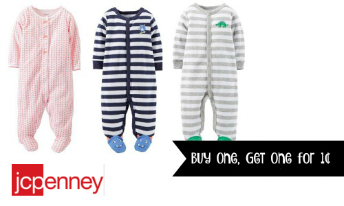 Carters Buy One, Get One for a Penny at JCPenney