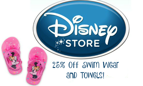 Disney Store: 25% Off Swim Sale