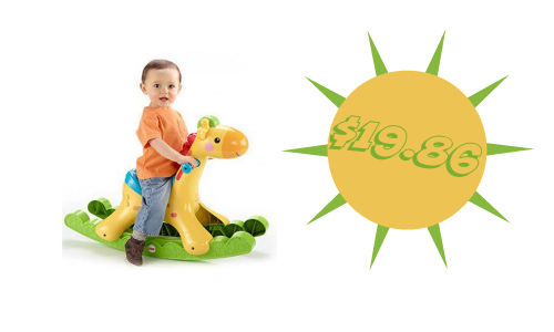 Walmart: Fisher-Price Giraffe Rocker, $19.86