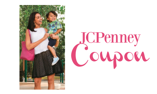 New JCPenney Coupon Codes