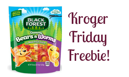 Kroger Friday Freebie: Black Forest Gummies