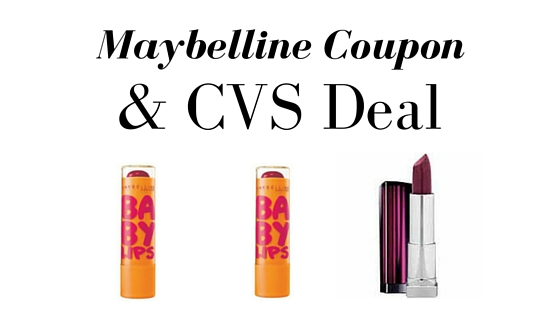 maybelline coupon