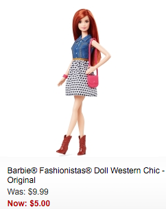 barbie clearance