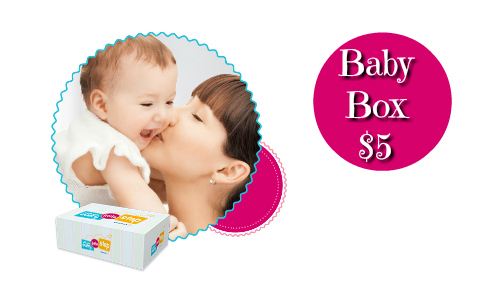 Walmart Baby Box, $5