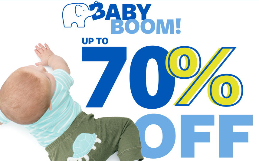 baby sale deal carter's