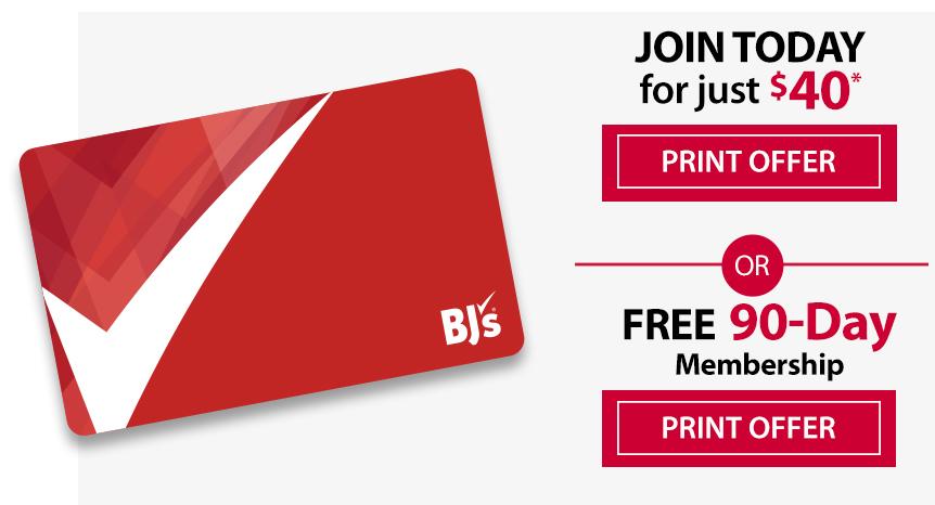 bj's offer