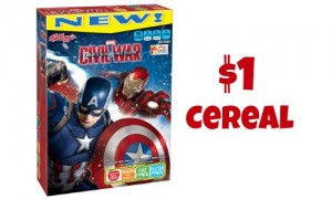 captain america cereal