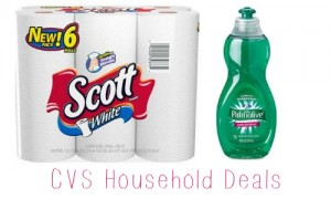 cvs household deals