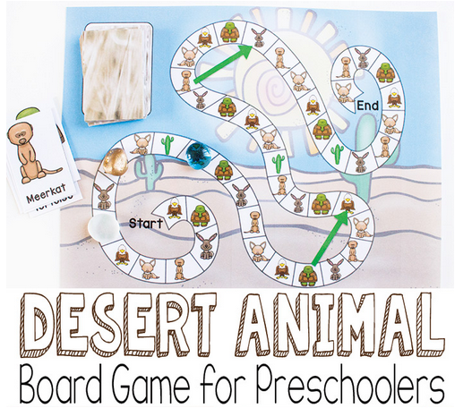 dessert animals