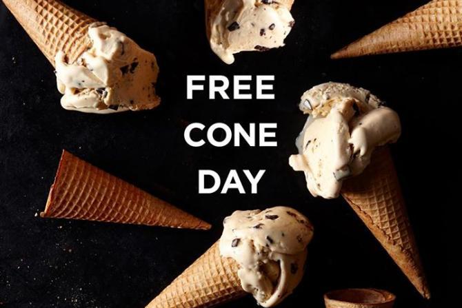 Haagan-Dazs: Free Cone Day 2016