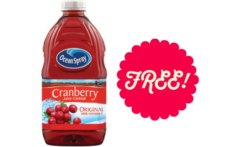 free ocean spray juice