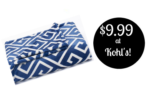 Kohls: Plush Throws, $9.99