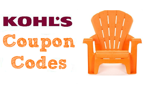 Kohl's: Kid's Garden Chairs, $8.99