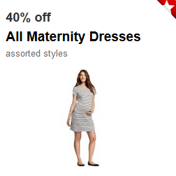 4310581838b Target  40% off Maternity Dresses    Southern Savers