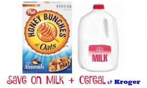 milk and cereal