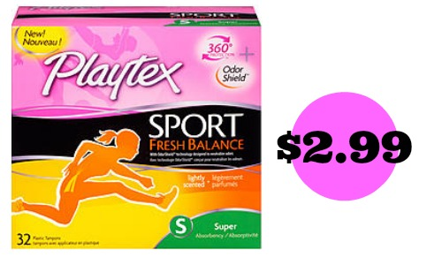 playtex coupon sport