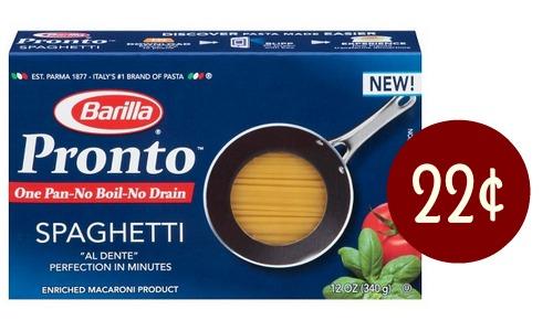 barilla pronto pasta