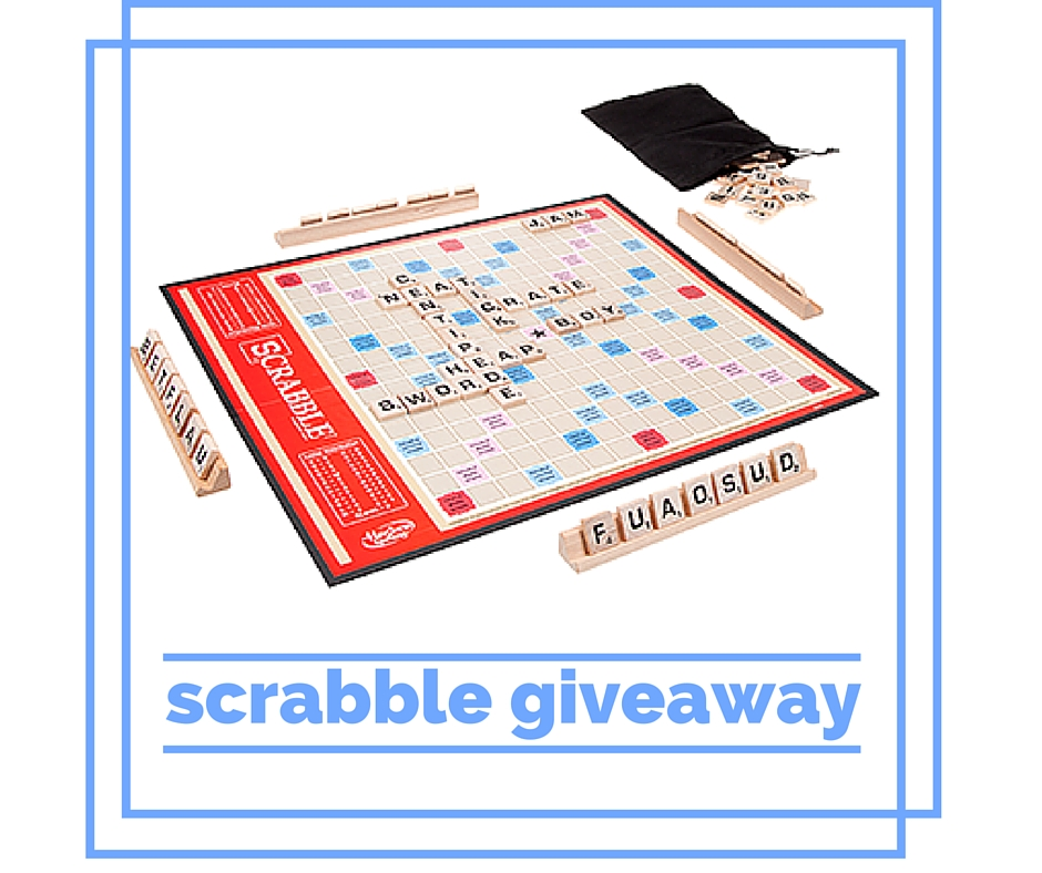 scrabble giveaway