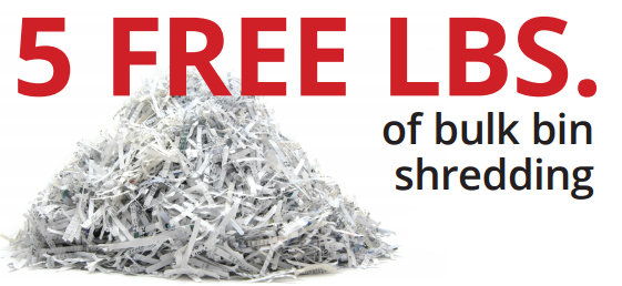 Office Depot: Free Bulk Bin Shredding