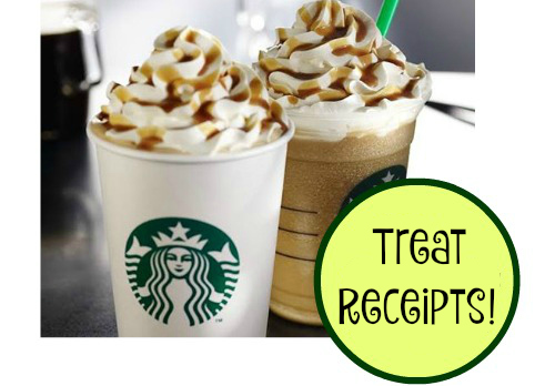 Starbucks Treat Receipts!