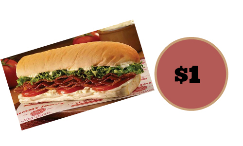 Jimmy John's: $1 Subs