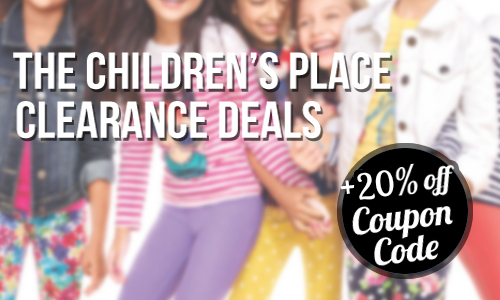 The Children's Place: 20% Coupon Code