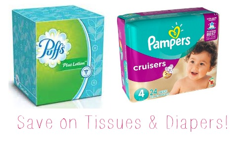 tissues and diapers