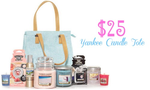 yankee candle tote