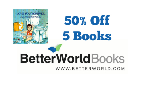 Better World Book Memorial Day Sale