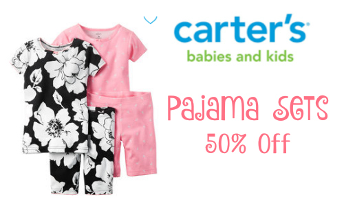 Carters: 50% Off Pajama Sale