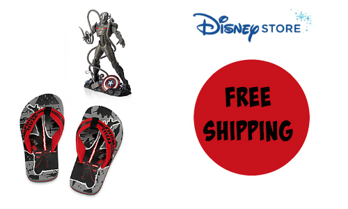 Disney Store: Free Shipping on Any Marvel Purchase