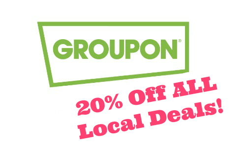 Groupon: Extra 20% Local Deals