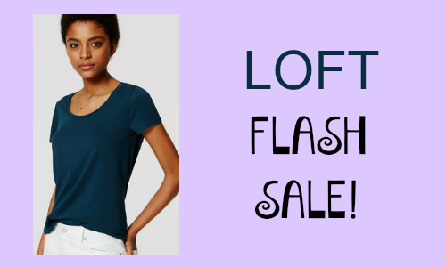 Loft: Flash Sale + Free Shipping
