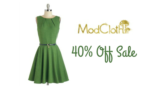 Mod Cloth Memorial Day Sale