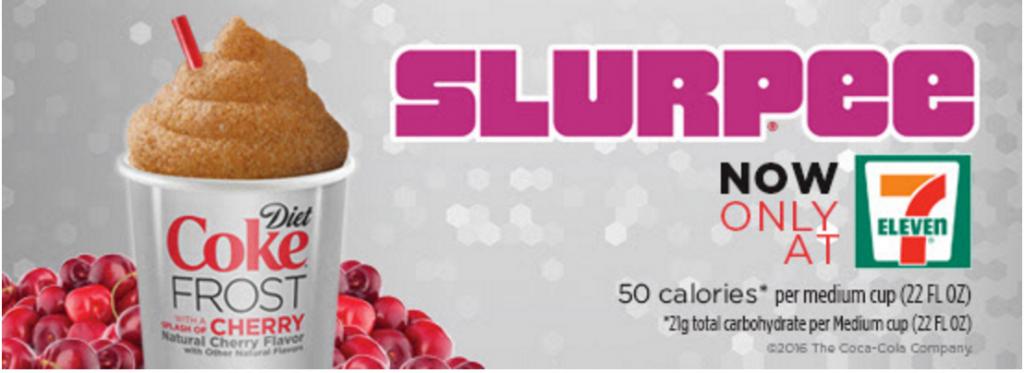 free diet coke slurpee