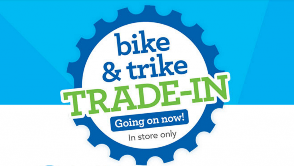bike and trike trade in event