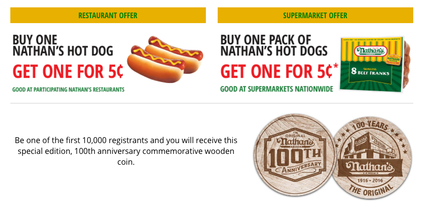 nathans hot dogs coupon