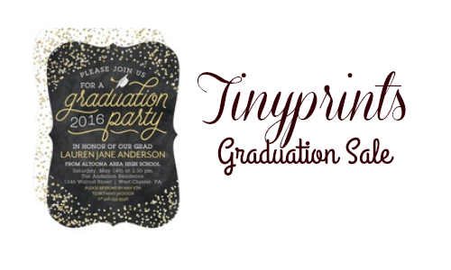 Tinyprints: Graduation Announcement and Invitation Sale