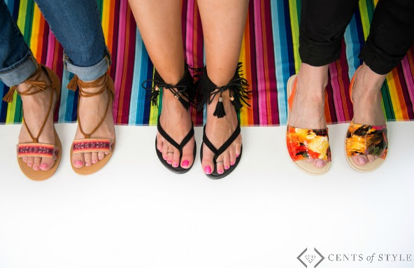 cents of style sandal deal