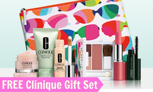 Nordstrom Deal: Free 7-Piece Clinique Gift Set