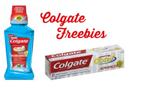 colgate freebies