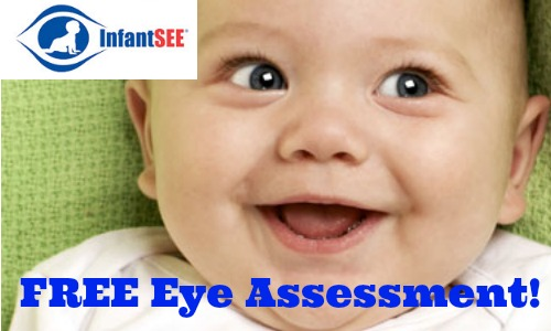 free infant eye assessment