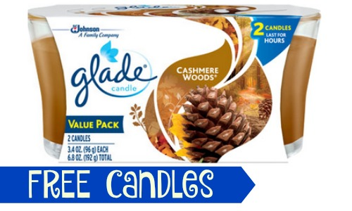 free glade candles