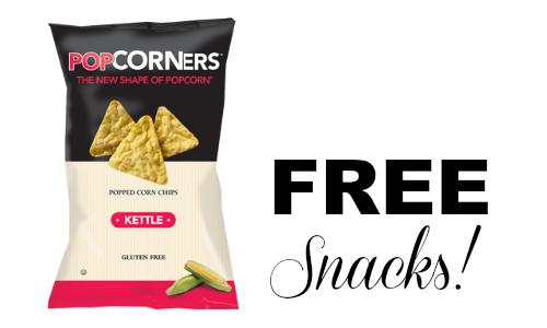 free popcorners