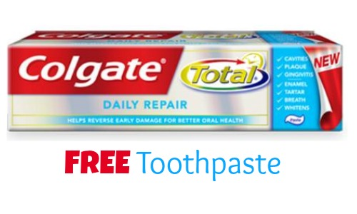 free toothpaste colgate coupon