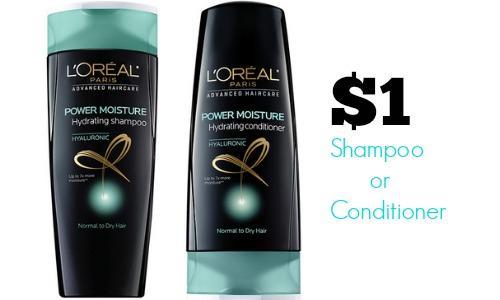 l'oreal shampoo deal