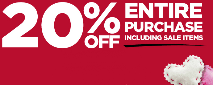 Michaels: 20% Off Entire Purchase