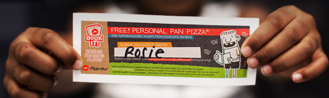 pizza hut book it program